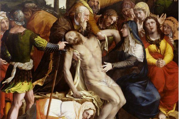 Charles Dorigny, 'Le Christ mort descendu de la croix', 1646 - Eglise Sainte-Marguerite – Paris XI