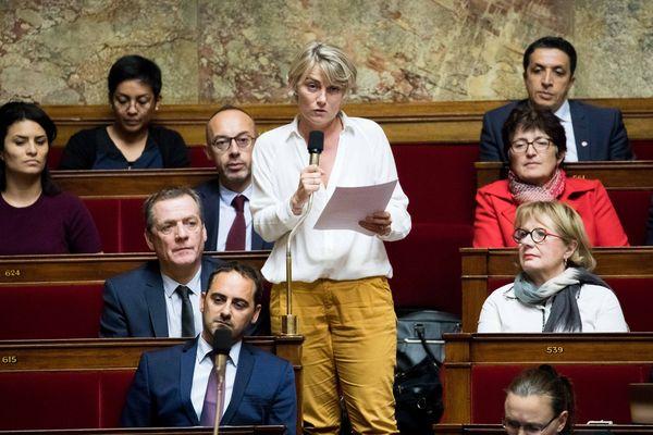 Au centre, la députée LREM du Loiret, Stéphanie Rist.