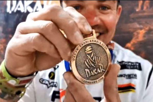 Le pilote ajaccien, Sébastien Cojean, a terminé le Rallye-raid Dakar 2020. Il a terminé à la 65e place du classement moto.