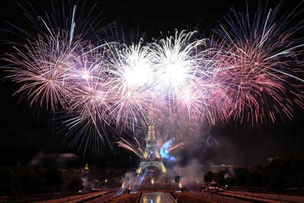 Le feu d'artifice de la Tour Eiffel maintenu malgré la propagation du variant Delta