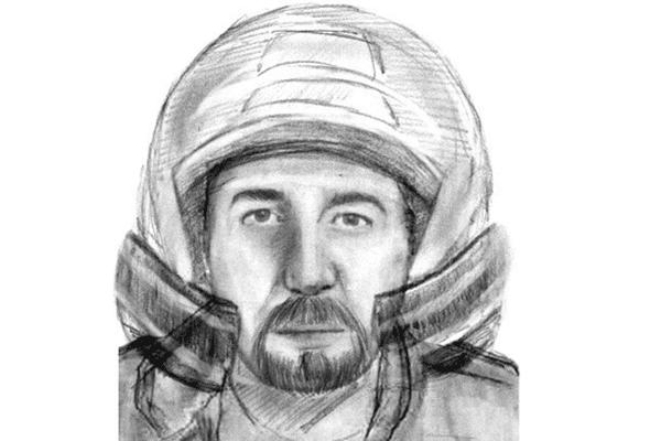 La diffusion du portrait robot d'un motard vu tout près de la scène de crime a entraîné l'interpellation du suspect