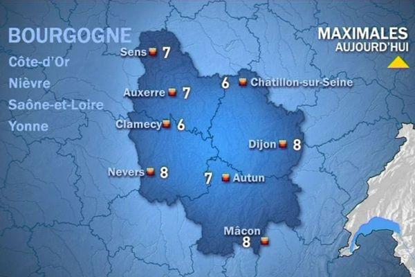 Les prévisions de Météo France vendredi 16 octobre après-midi