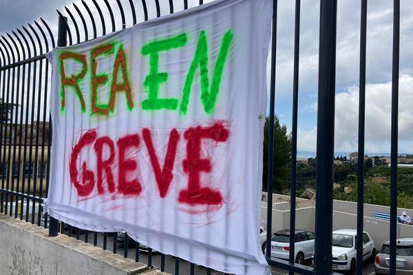 Les services de réanimation ont fait grève à Nice ce mardi 11 mai.