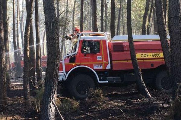 Véhicule de lutte contre les incendies - Photo prétexte -
