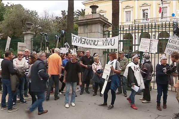 Le collectif Tavignanu Vivu, depuis des années, multiplie les actions pour sensibiliser l'opinion publique et les politiques