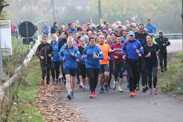 La course de Gray qui a eu lieu samedi 4 novembre.