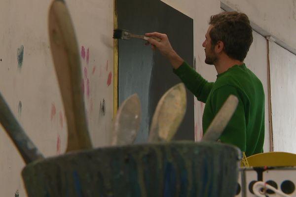 David Malek, un plasticien installé à Poitiers est l'un des lauréats.