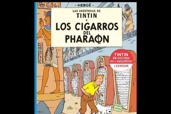 La Une occitane des cigares du pharaon