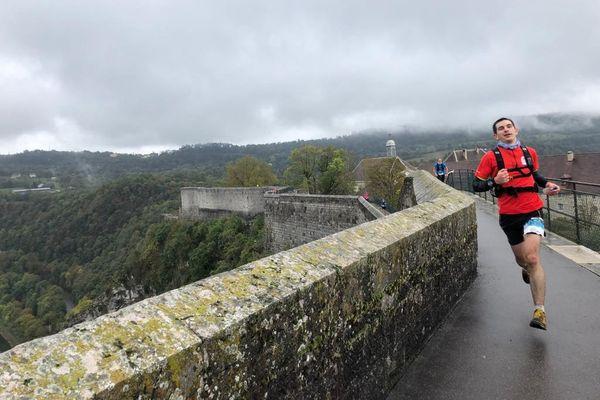 Trail des Forts 2020 : sur les remparts de la Citadelle de Besançon