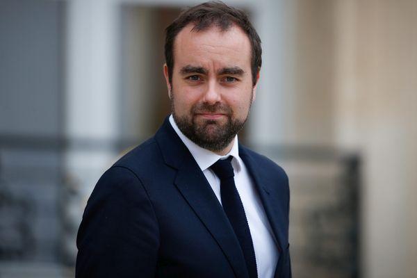 Sébastien Lecornu à la sortie du conseil des ministres le 2 novembre 2017