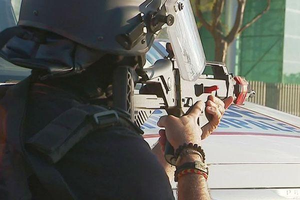 Perpignan - simulation d'attaque terroriste au lycée Maillol - mai 2019.