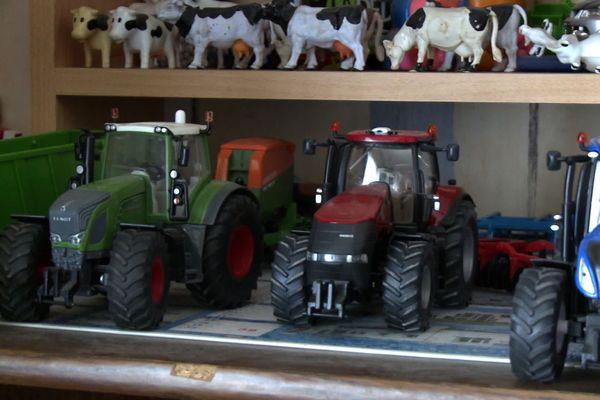 La collection de tracteurs de Gaëtan