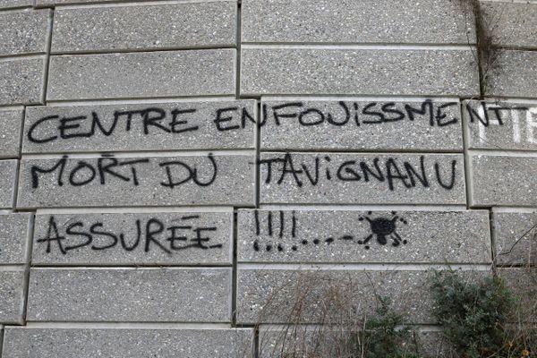 Le projet de nouveau centre d'enfouissement de Giuncaggio (Haute-Corse) très contesté par des défenseurs de l'environnement.jpg