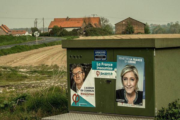 Le Pen et Mélenchon de plus en plus appréciés dans le Vaucluse (photo d'illustration)