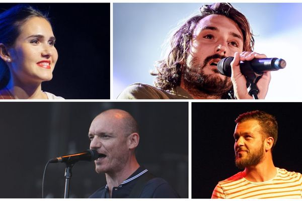 """Joyce Jonathan, Jérémy Frérot, Claudio Capéo et Gaëtan Roussel ... quelques uns des artistes qui seront à Tours pour le """"Tour Vibration 2018"""""""