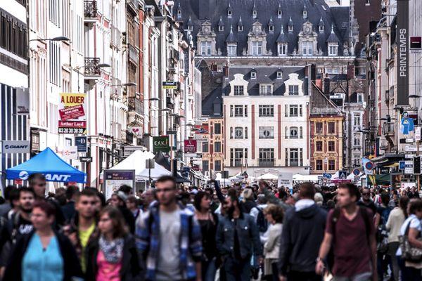 À Lille.