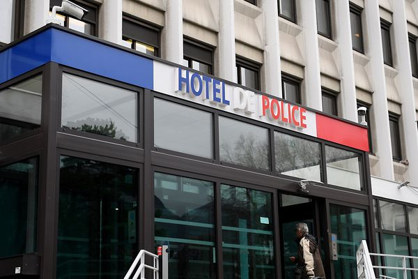 L'hôtel de police de Grenoble, le 18 janvier 2018