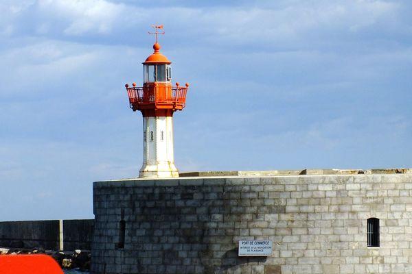 Le phare du port de Sète - illustration- juillet 2019