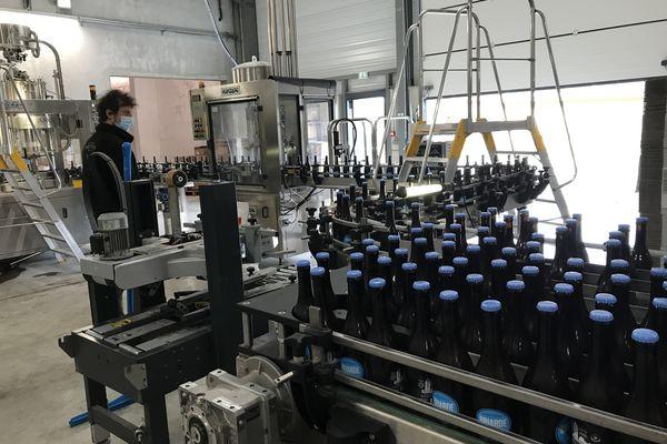 La brasserie produit des bières presque totalement avec des produits franciliens.