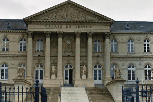 Palais de justice d'Amiens.