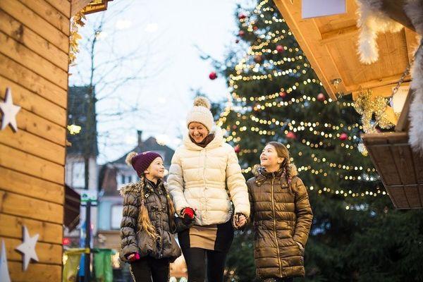 Le marché de Noël de Haguenau attire tous les publics.