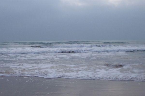 L'océan atlantique n'est pas accessible pour l'heure durant le confinement