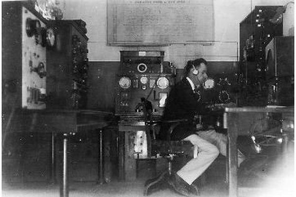 Paul Dessoy, l'un des radio de la base d'hydravions d'Antibes dans les années 20.