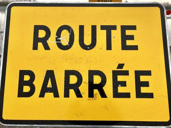 De nombreuses routes sont barrées en raison des crues en Saône-et-Loire