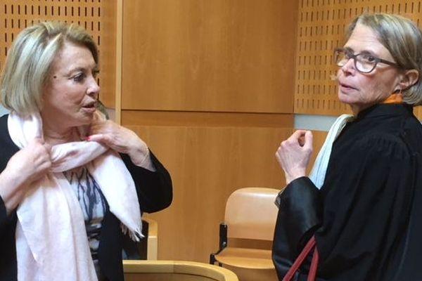 Maryse Joissains et son avocate