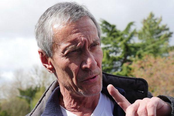 François Levantal au festival du film policier de Beaune, le 1er avril 2017.