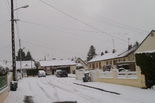 Grandvilliers dans l'Oise, 9h30 ce matin