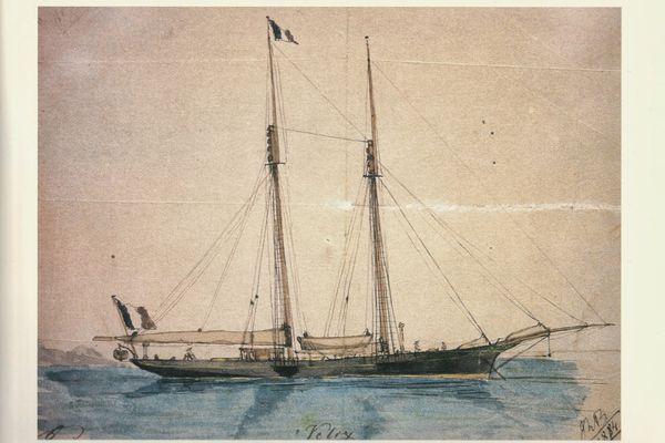 Velox, une goélette qui allait révolutionner le yachting à la fin du XIXème siècle