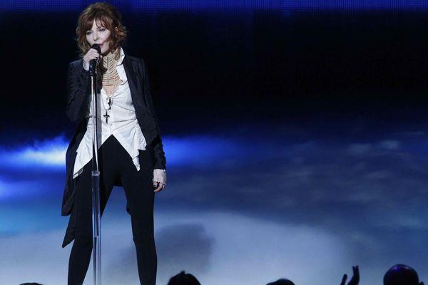 Mylène Farmer lors des NRJ Music awards