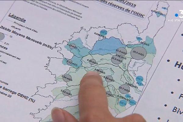 Le comité sécheresse s'est tenu mercredi 12 juin à Corte.