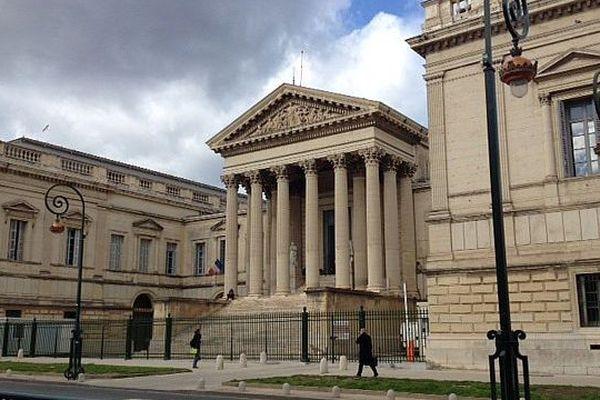 Montpellier - le palais de justice - mars 2016.