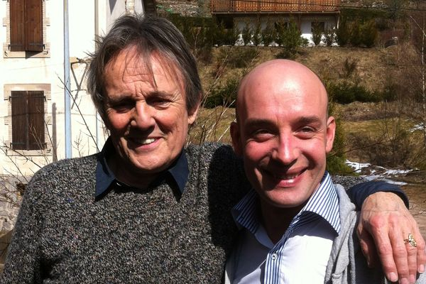 Murray Head et Jérôme sous le soleil des Vosges