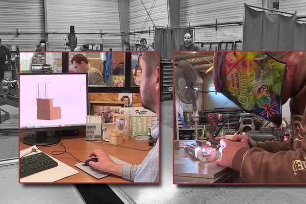Près du Havre CPM Industries conçoit et fabrique des écrans de protection en plexiglas