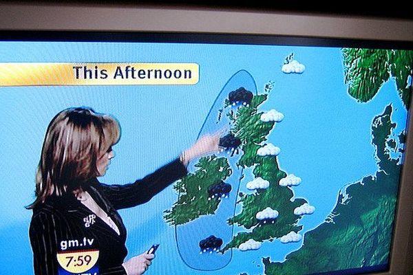 A la télé, les présentateurs météo confondent souvent la Normandie avec l'Angleterre.