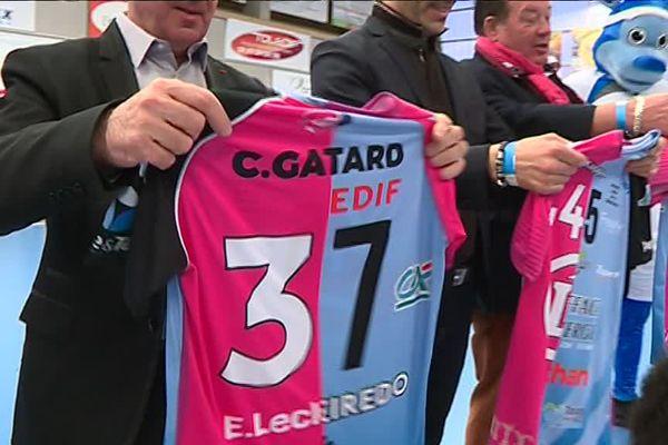 Un maillot spécial pour ce derby entre Chambray et Fleury