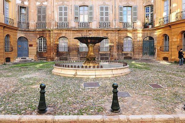 La 11e circonscription des Bouches-du-Rhône englobant la commune d'Aix-en-Provence.