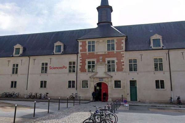 Le campus de Sciences Po à Reims (Marne) est prêt à raccueillir sa population étudiante.