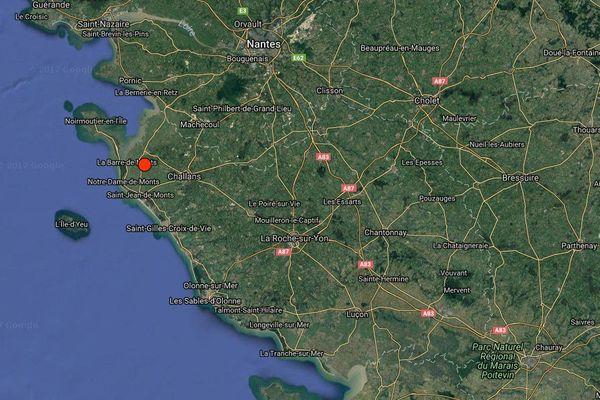 La terre a tremblé autour en Vendée la nuit du 15 au 16 octobre 2017