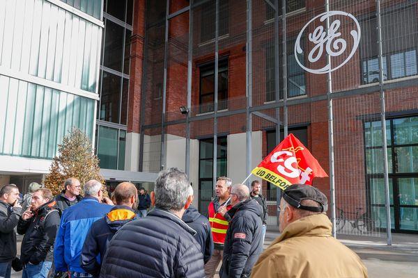 Le piquet de grève du 10 octobre dernier