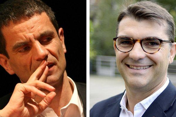 Bruno Chavanat et Charles Compagnon