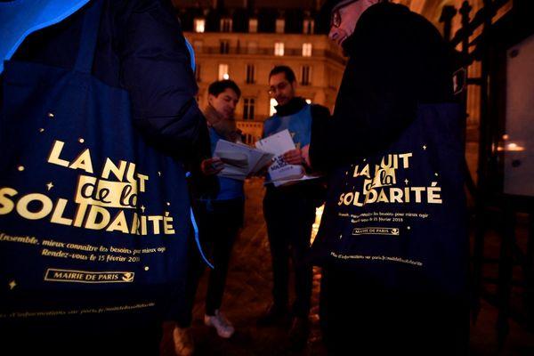 2 000 bénévoles vont parcourir les rues de la capitale ce jeudi soir à Paris.