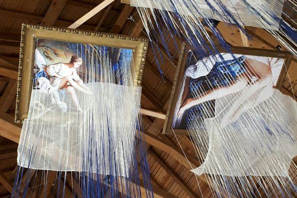 """Les envolées : l'art en suspension"" sera accessible au public jusqu'à mi-août"