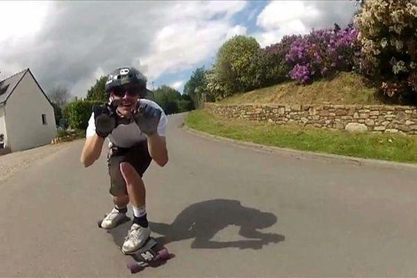 Christophe Gatignon: champion de France Longboard-Skate