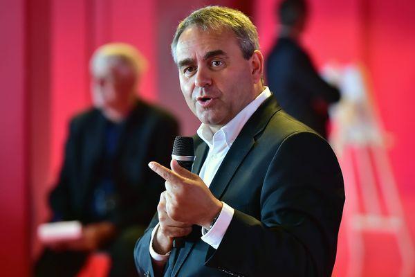 Xavier Bertrand, candidat Les Républicains aux régionales en Nord Pas-de-Calais / Picardie