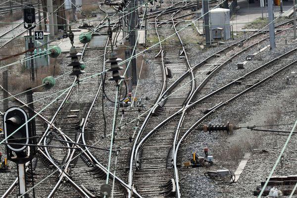 La gare de Mulhouse début avril 2018
