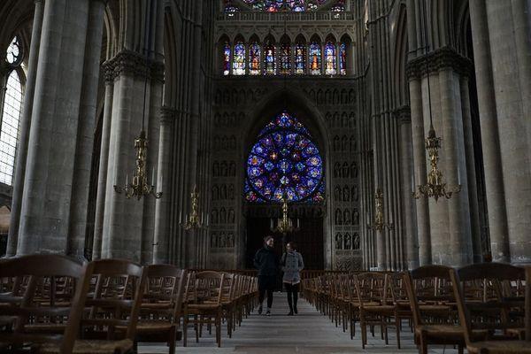 Notre-Dame de Reims, le site le plus visité de Champagne-Ardenne est doté d'un plan d'action en cas d'incendie.